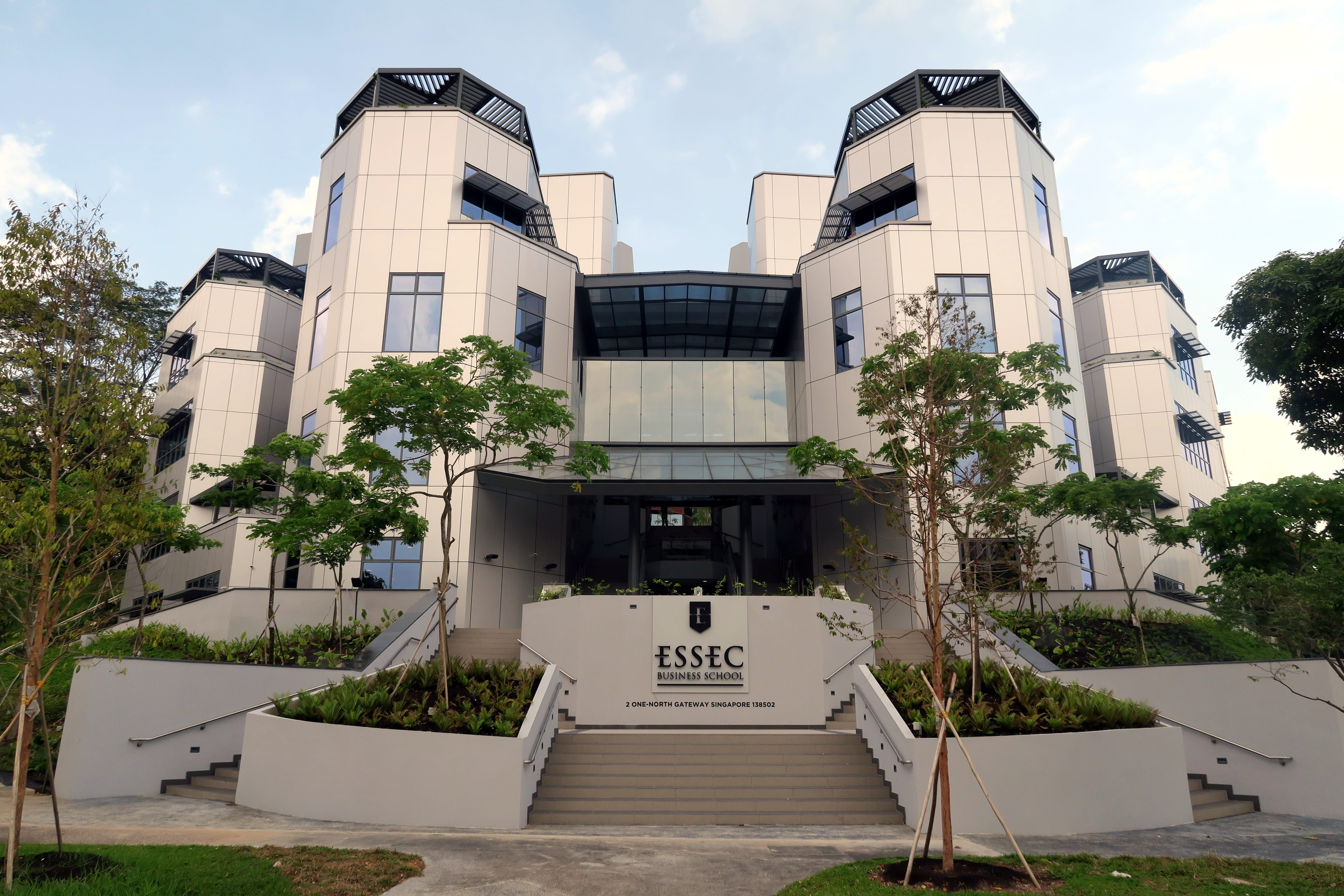 ESSEC Asia-Pacfic Campus - front entrance