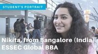 Nikita, student testimonial from Bangalore, India (Global BBA)