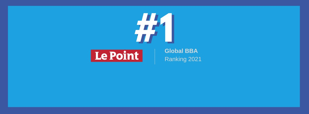 ESSEC Global BBA ranks #1 in Le Point