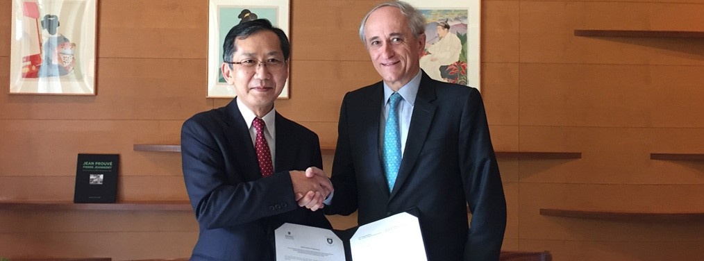 L'ESSEC Business School et Keio University, Faculty of Business and Commerce au Japon signent un accord de Double Diplôme