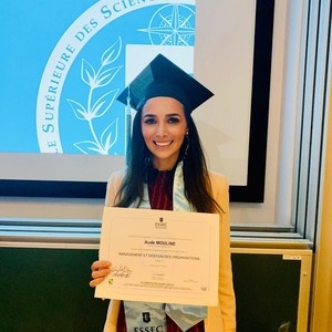 From the Hospital Bed to an ESSEC degree: Aude Mouline's extraordinary journey