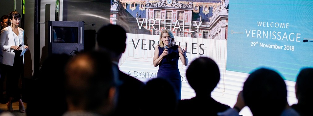 "Revivez le vernissage de l'exposition ""Virtually Versailles"""