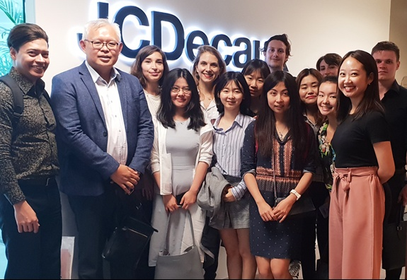 Visit To JCDecaux SG Headquarters