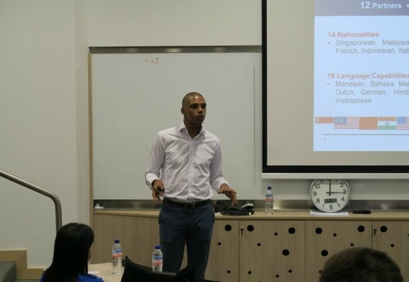 Professional Talk by Mr. David Nosibor, Innovation Promoter, Mazars University Asia, Mazars Asia-Pacific Pte Ltd