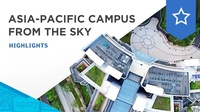 A bird's-eye view of the Asia-Pacific campus at Nepal Hill