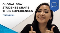 Students share their professionnal experiences with ESSEC Global BBA | ESSEC Testimonies