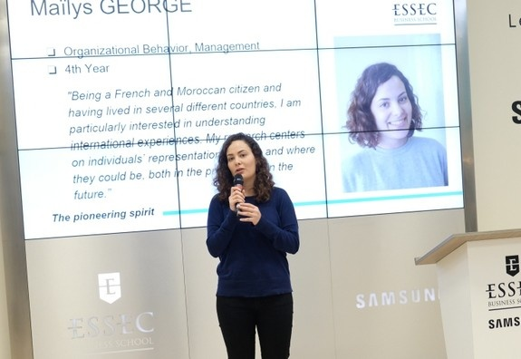 """The PhD poster session is an opportunity for us to share our research with the broader ESSEC community"""
