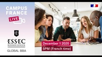 Campus France Live with ESSEC Business School - Global BBA