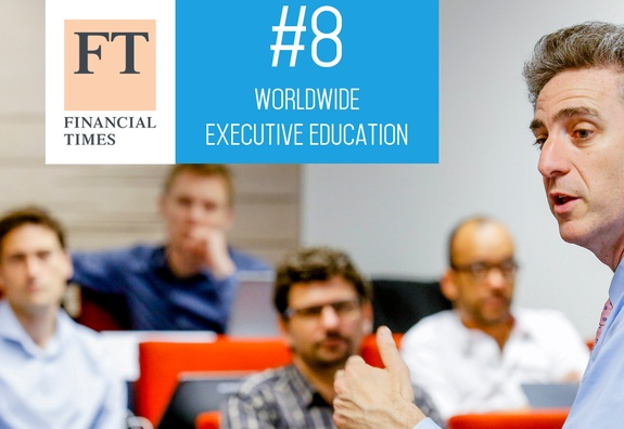 ESSEC Executive Education ranked among the world's top 10 in the Financial Times