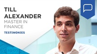 Till Alexander - why do I choose Singapore campus for Master in Finance?