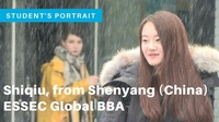 Shiqiu, international student testimonial (Global BBA)