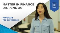 Dr Peng Xu, Associate Academic Director, Master in Finance