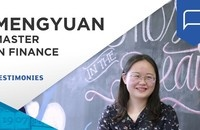 Mengyuan talks about flexibility of the Master in Finance and the job opportunities it provides  | ESSEC Testimonies