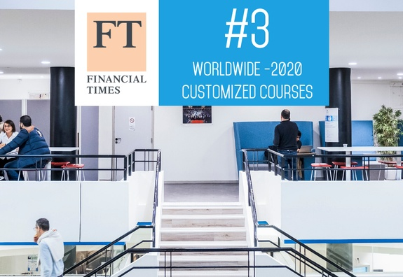 FT Executive Education 2020 ranking: ESSEC in 3rd place worldwide for customized programs, 5th overall