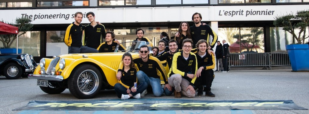 Retour en images sur le salon de l'automobile 2019 de RACE ESSEC