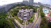 A bird's-eye view of the new ESSEC Asia-Pacific campus at Nepal Hill