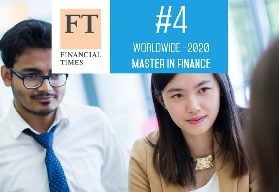 ESSEC ranked 4th in the Financial Times Master in Finance Ranking 2020