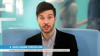Guillaume Chevillon explains what backgrounds students of the MSc in DSBA usually have