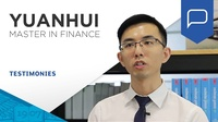 Yuan Hui, access into Investment Banking
