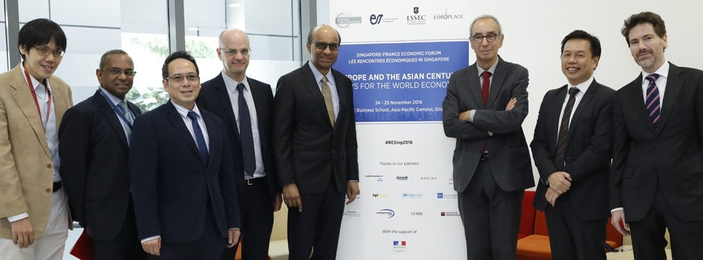 Inaugural Singapore-France Economic Forum Strengthens Ties