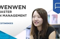 Wenwen shares her Master in Management journey | ESSEC Testimonies