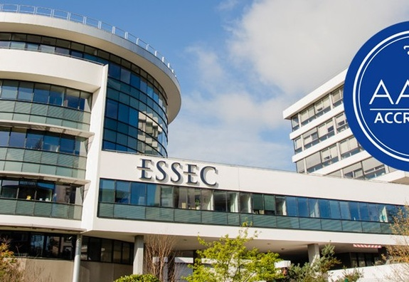 ESSEC Business School's AACSB accreditation  renewed for another five years