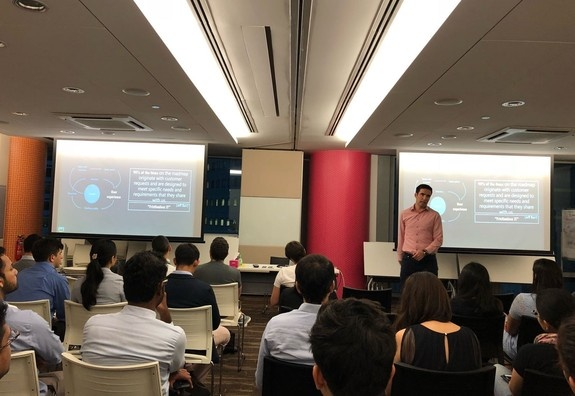 ESSEC Global MBA Visit to Amazon Web Service in Singapore