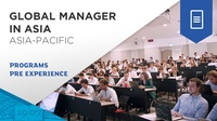 Global Manager in Asia (GMA) Track - Master in Management