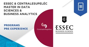 Master in Data Sciences & Business Analytics - ESSEC & CentraleSupélec