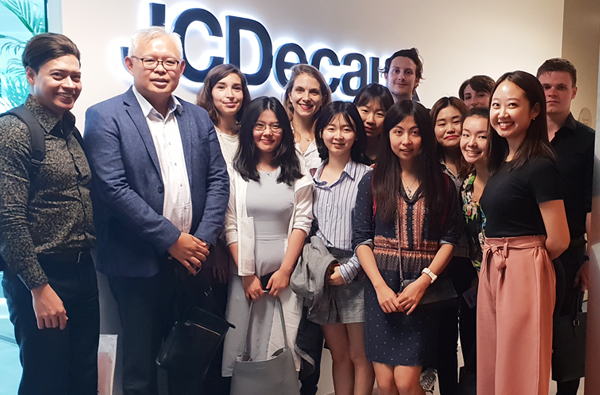 Company Visit to JCDecaux - 7