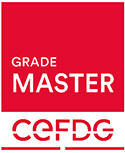 Grade Master/Official Master accredited by French Ministry of Education